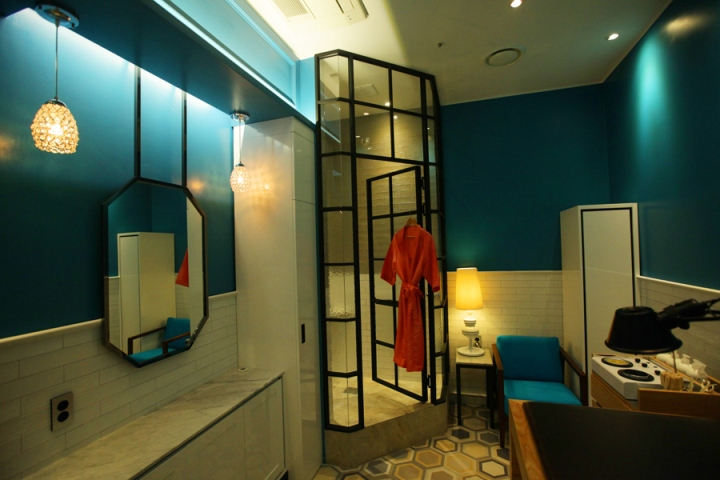 Интерьер салона красоты: комната для процедур