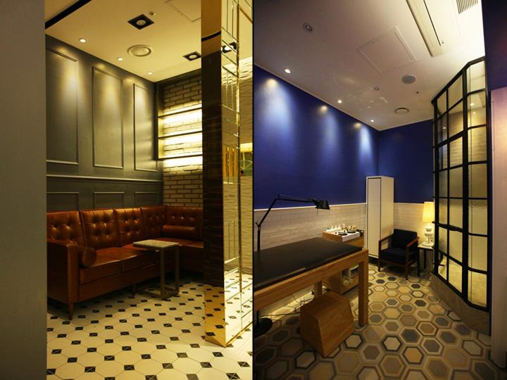 Интерьер салона красоты: каждая комната оформлена в своей цветовой гамме