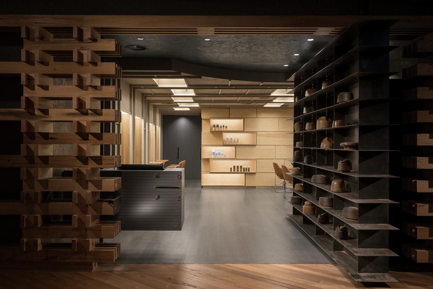 Интерьер салона красоты от «Craig Tan Architects»
