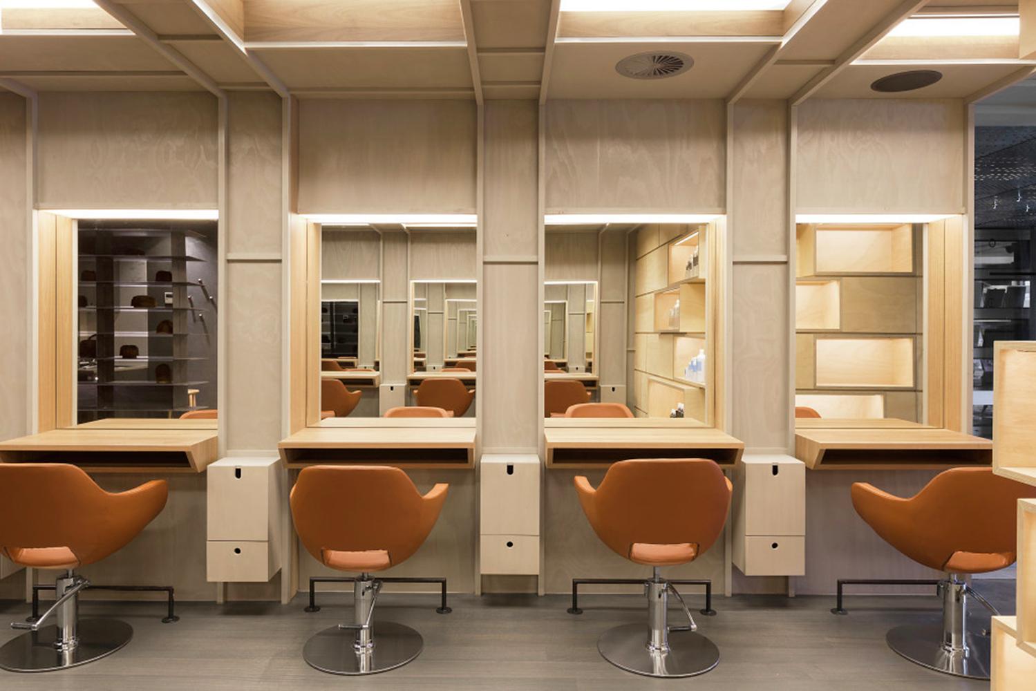 Интерьер салона красоты: места для клиентов