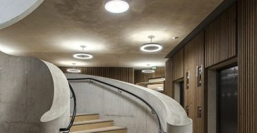 Оксфордский университет выступил заказчиком для здания и интерьера школы управления им. Блаватника