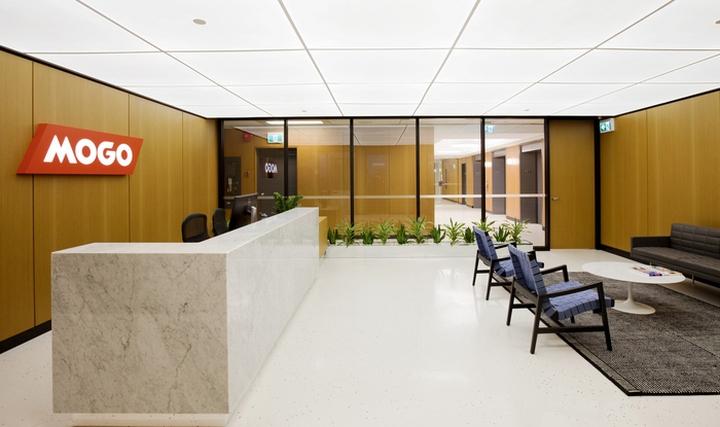 Интерьер современного офиса: открытая планировка