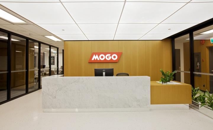Интерьер современного офиса: вестибюль