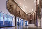 Интерьер современного офиса в бизнес центре Huafa & City Hub, Китай