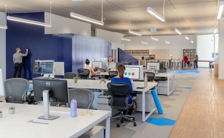 Уютный и приятный интерьер современного офиса в Калифорнии, США. Фото 2