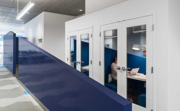 Уютный и приятный интерьер современного офиса в Калифорнии, США. Фото 4