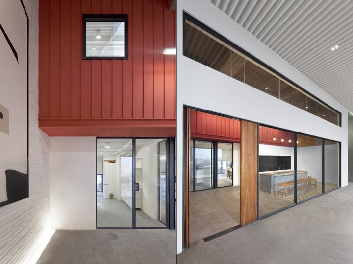 Футуристичный интерьер современного офиса в Китае: открытые пространства