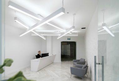 Интерьер современного офиса в Колумбии