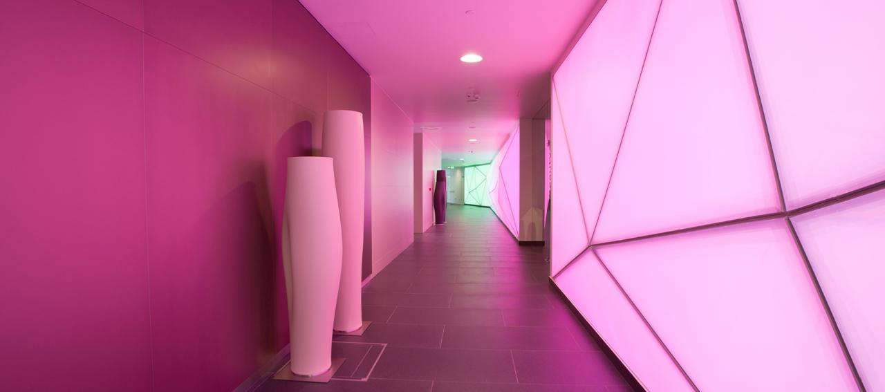 Интерьера спа-салона: коридор