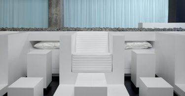 Интерьер спа-салона «Mizu»