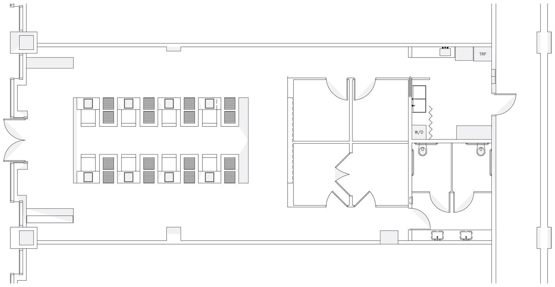 Интерьер спа-салона: планировка