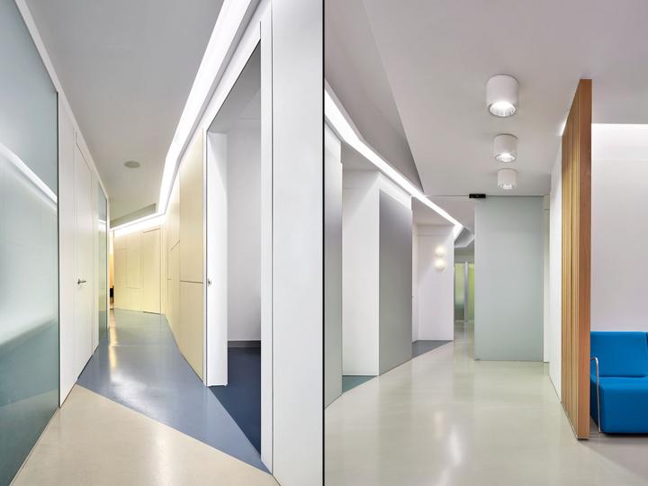 Интерьер стоматологической клиники: светлый дизайн клиники