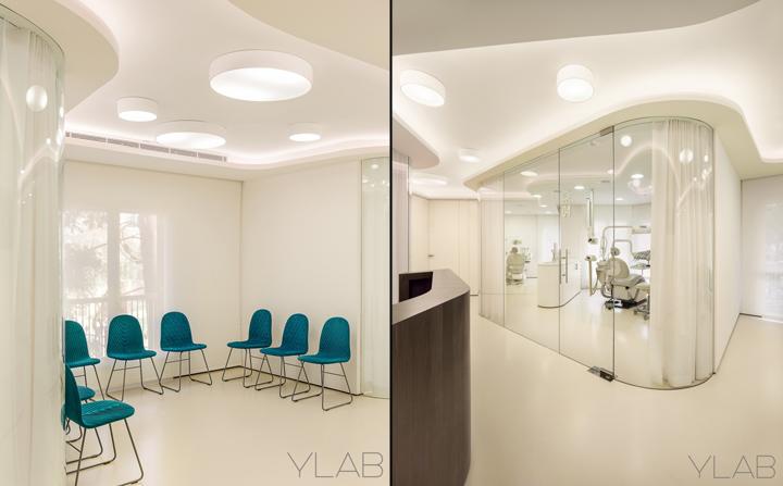 Интерьер стоматологической клиники Valles & Valles