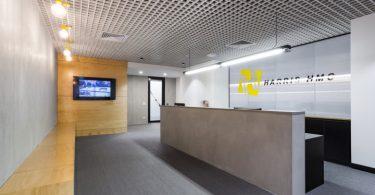 Интерьер строительного офиса в Мельбурне