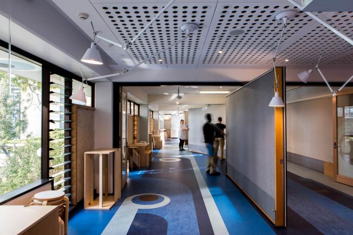 Интерьер университета школы архитектуры