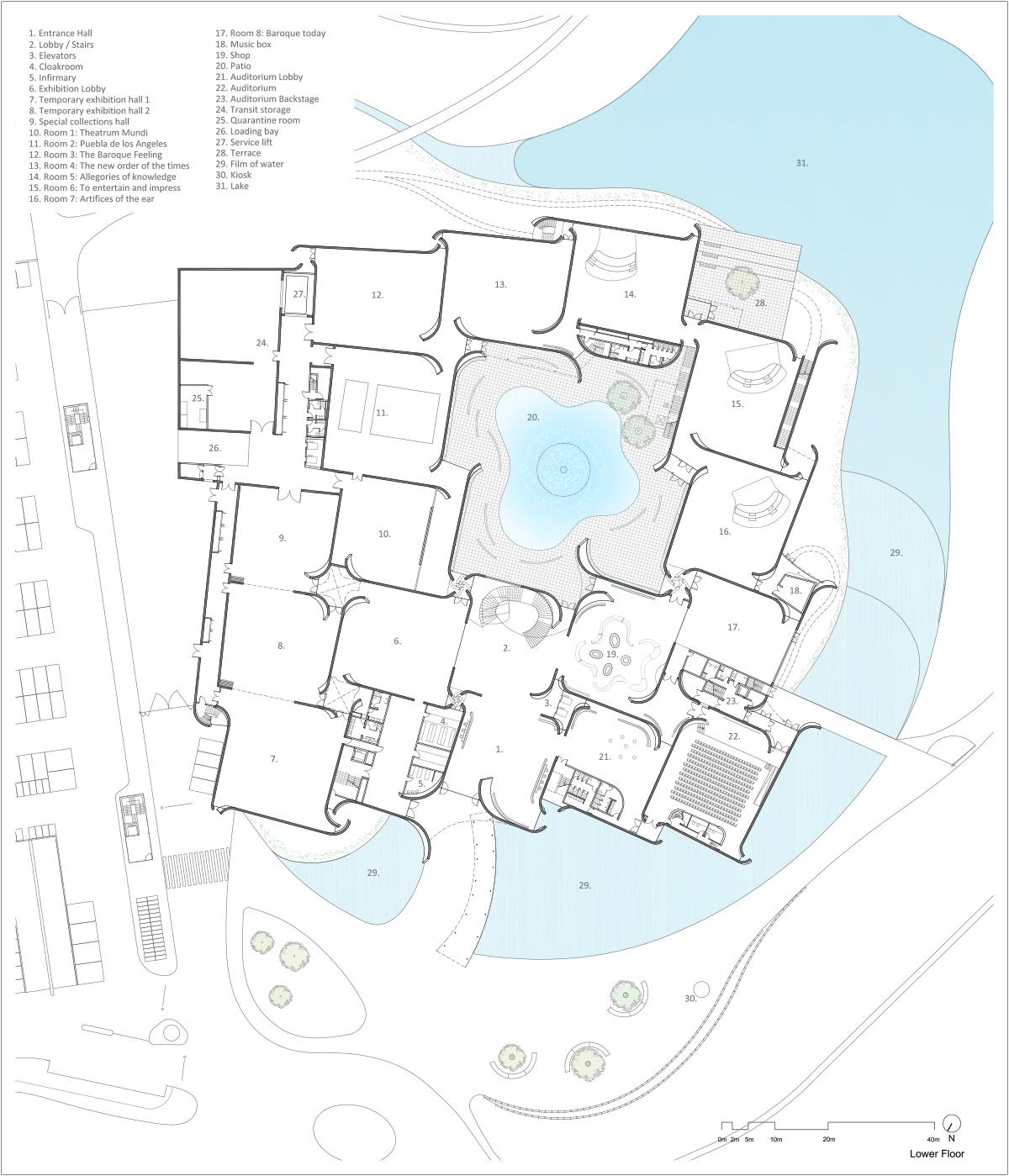 План интерьера современных музеев - Фото 2
