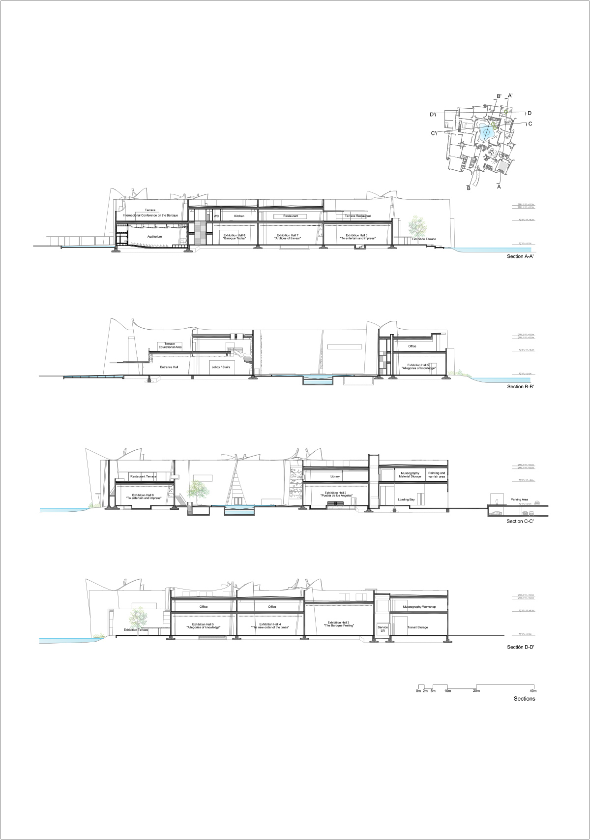 План интерьера современных музеев - Фото 7