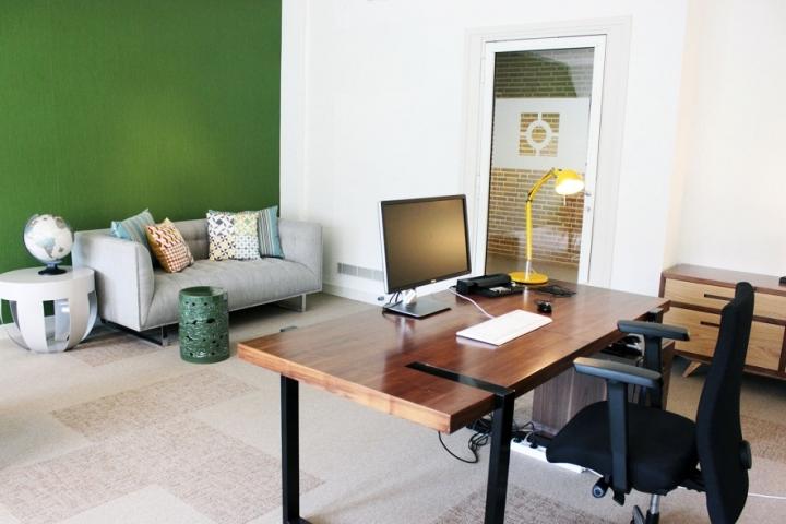 Интерьер офиса компании iSight Partners в Нидерландах