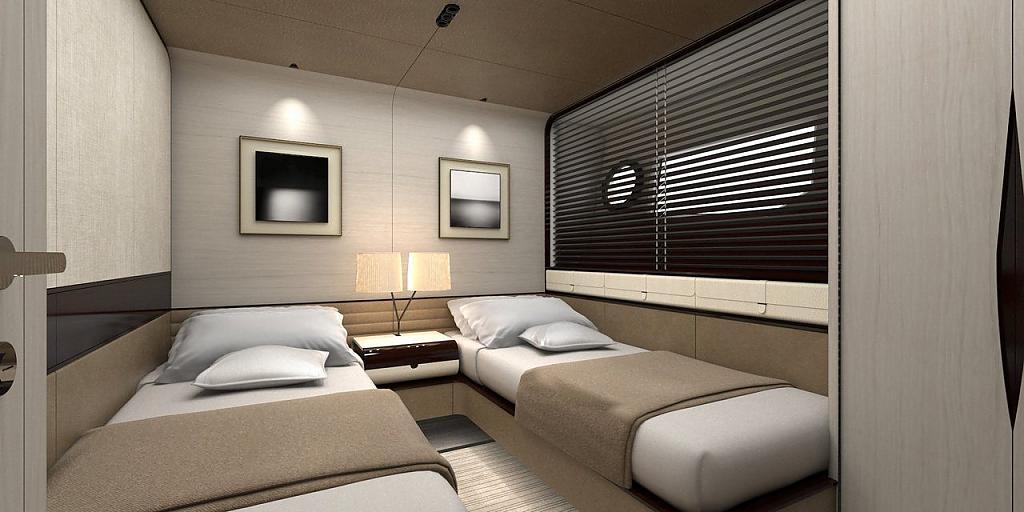 Инновационный дизайн итальянской яхты Azimut Grande 95RPH - фото 4