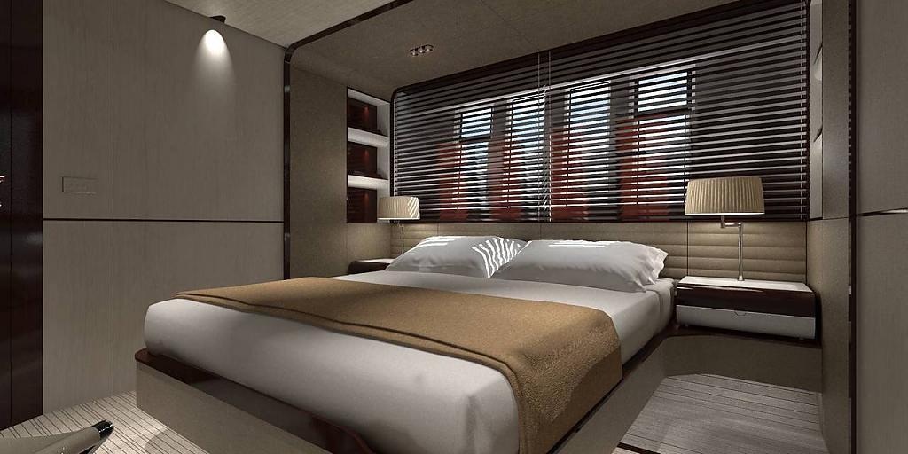Инновационный дизайн итальянской яхты Azimut Grande 95RPH - фото 18