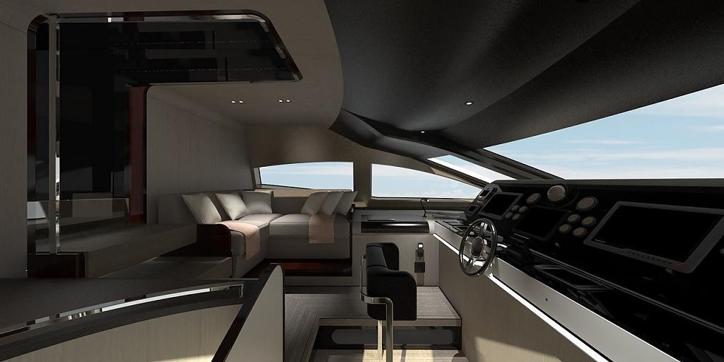 Инновационный дизайн итальянской яхты Azimut Grande 95RPH - фото 20