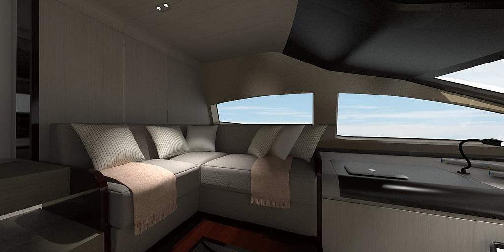 Инновационный дизайн итальянской яхты Azimut Grande 95RPH - фото 22
