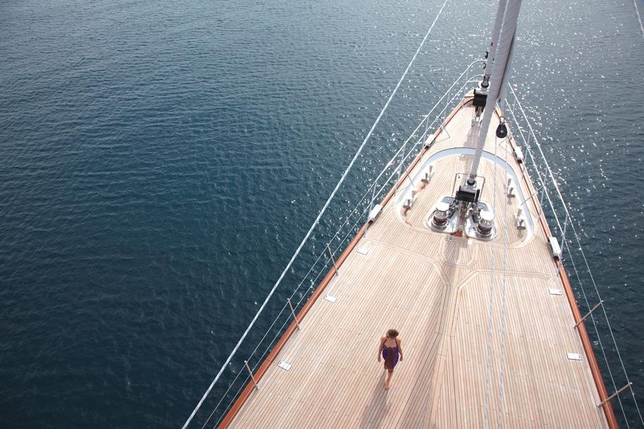 Итальянская яхта Panthalassa построена в 2010 году - фото 3