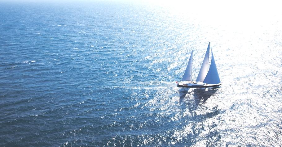 Итальянская яхта Panthalassa в море - фото 2
