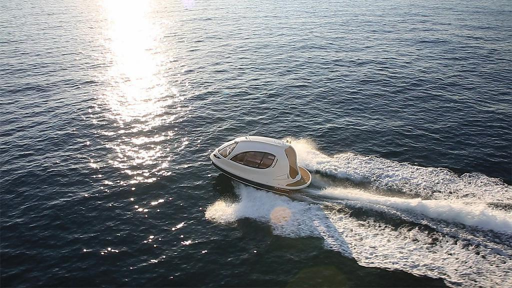 Мини-яхты Jet Capsule от итальянского конструктора Pierpaolo Lazzarini - фото 4