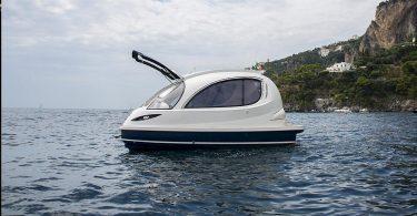 Мини-яхты Jet Capsule от итальянского дизайнера Pierpaolo Lazzarini