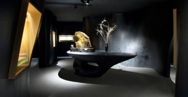Необычный интерьер и оригинальное пространственное решение музея нефрита Jade Museum в Шанхае