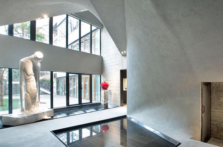 Интерьер музея нефрита Jade Museum