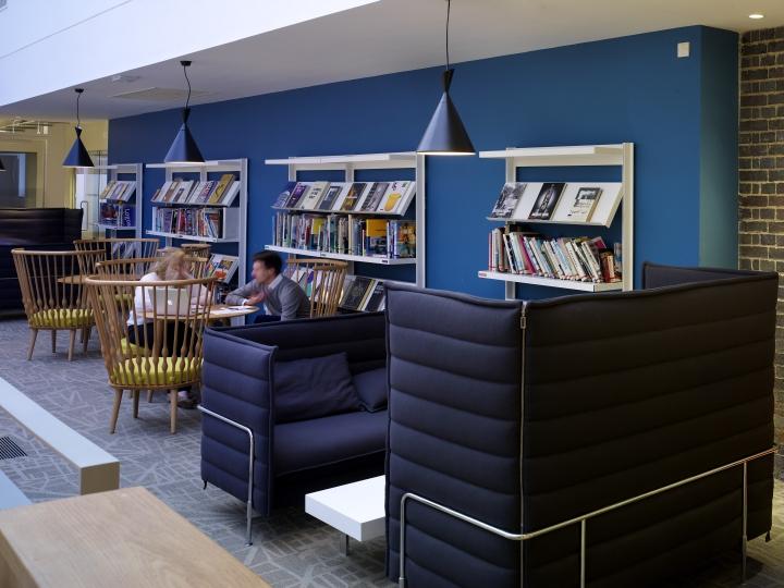 Дизайн офиса компании Jones Knowles Ritchie в Великобритании