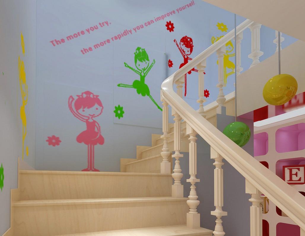 Оформление лестниц детских садов в картинках