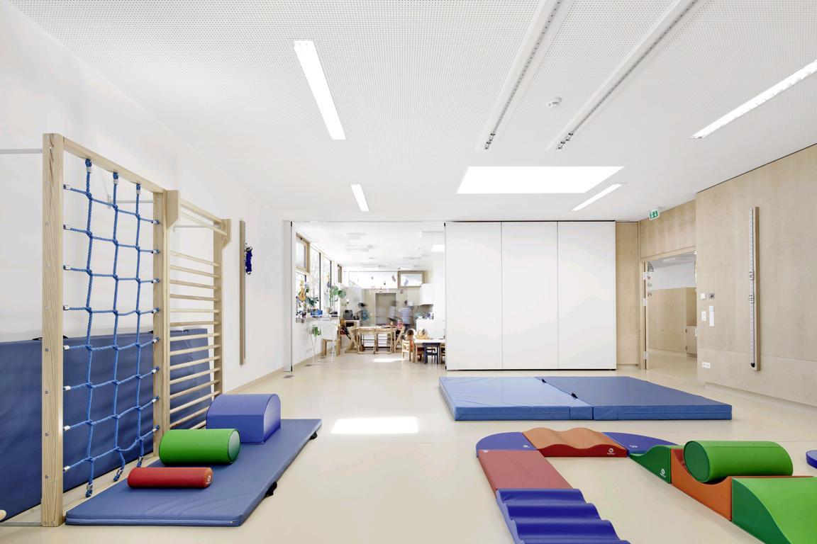 Спортивный детский сад дизайн