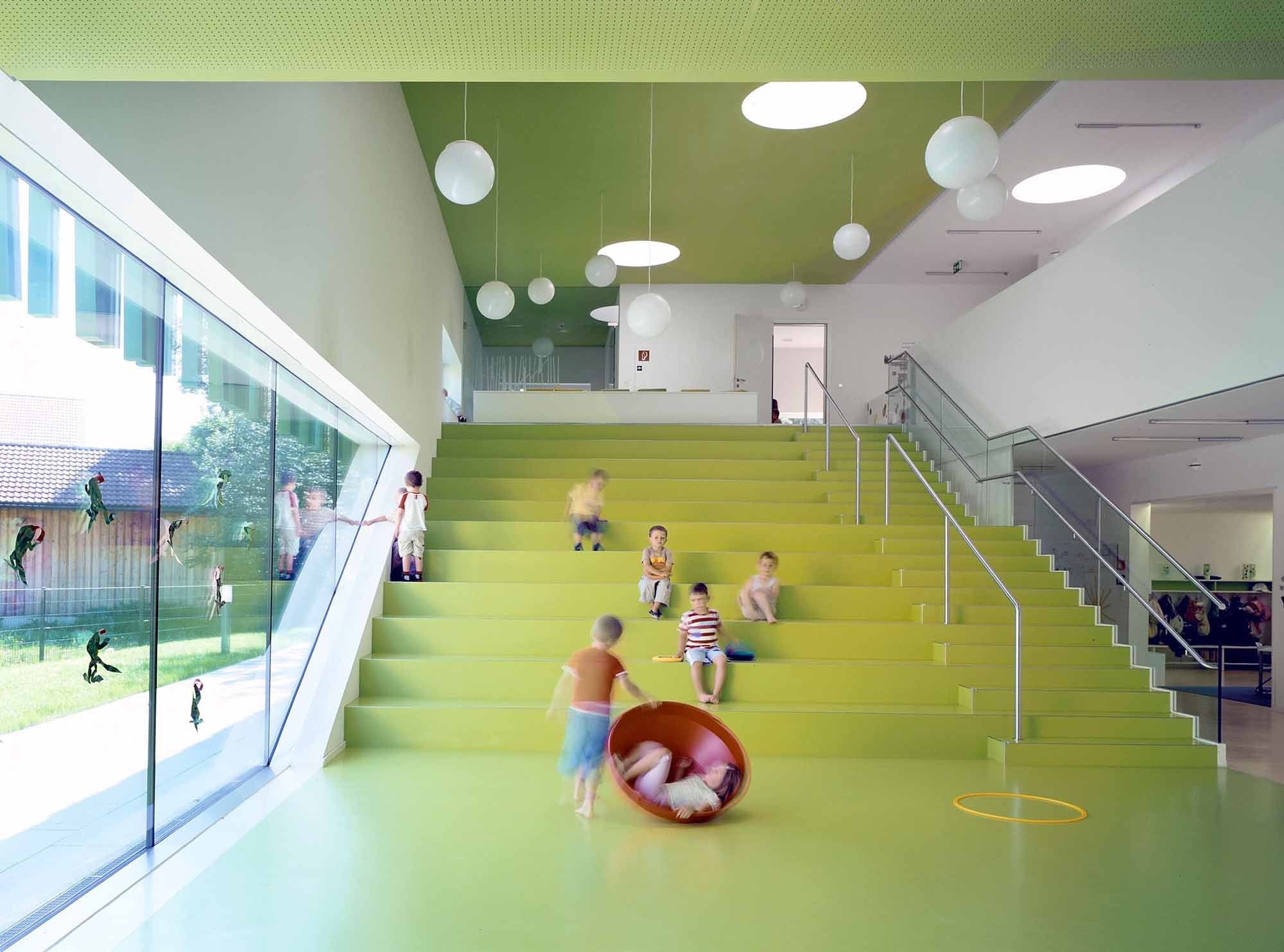 Детский сад в Зальцбурге