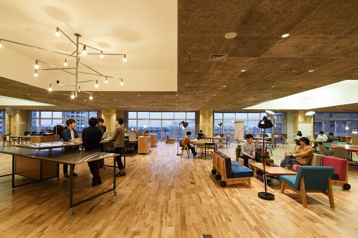 Организация рабочего пространства в лаборатории KOIL в Японии