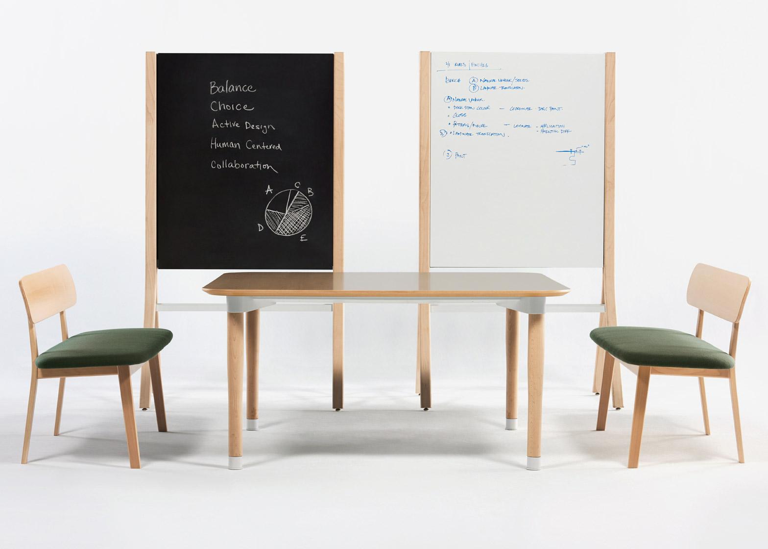 Коллекция офисной мебели в бежевом цвете