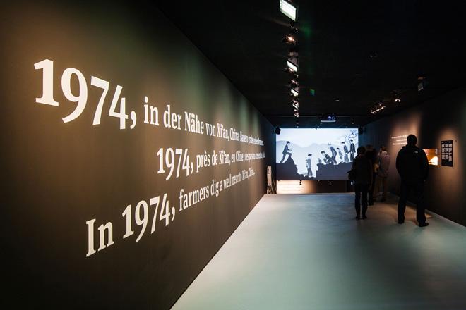 Выставка в историческом музее - соседство современных технологий и древности