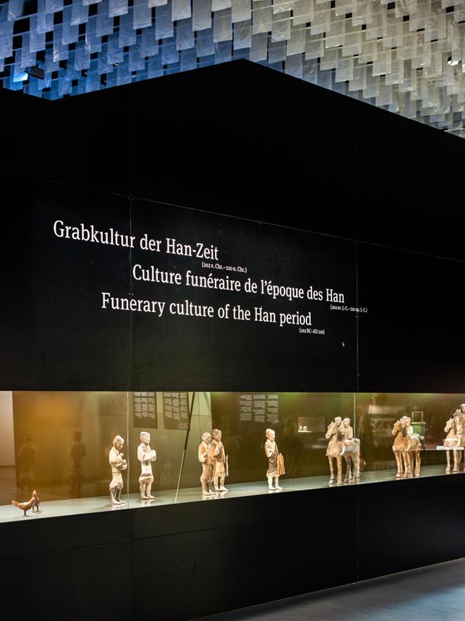 Презентация экспонатов на выставке в историческом музее