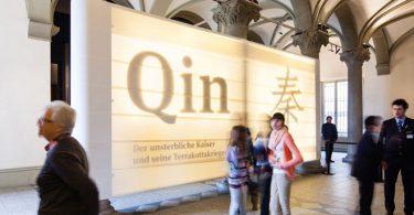 Выставка терракотовых воинов императора Цинь в историческом музее Берна