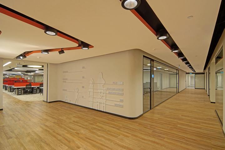 Комфортный офис фирмы E Bebek: необычный дизайн
