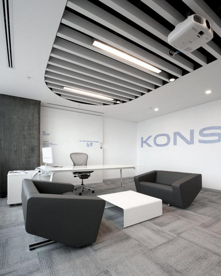 Интерьер офиса фармацевтической компании Konsina в Турции