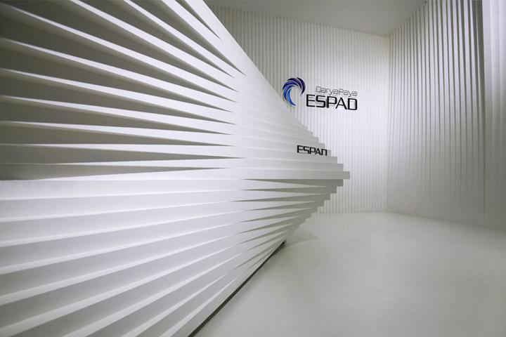 Контрастный офис компании Espad в Тегеране