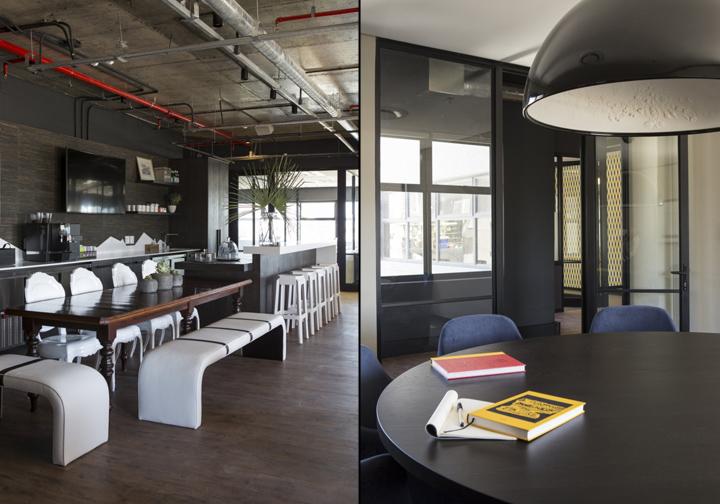 Дизайнерская мебель в интерьере коворкинг-офиса