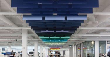 Креативное оформление офиса типографской компании