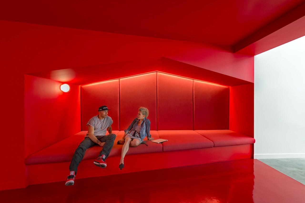Креативное оформление офиса, проект Bestor Architecture