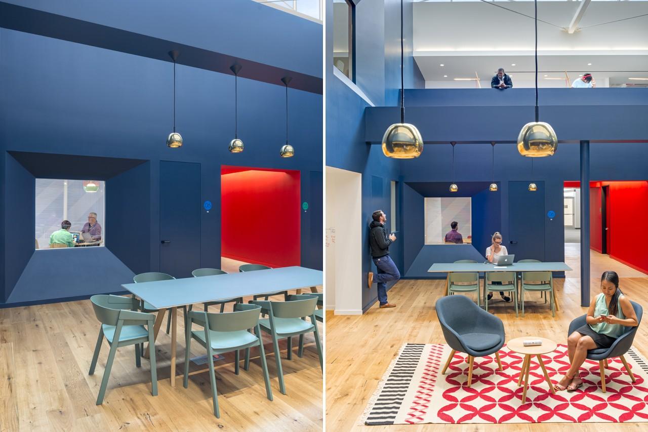 Креативное оформление офиса - зона отдыха
