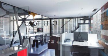 Креативный дизайн офиса: незаурядный проект