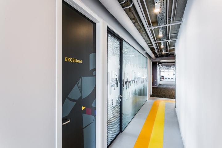 Креативные идеи для офиса – Стиль оформления коридоров